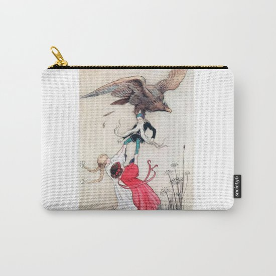 Compassionate Children Illustration Carry-All Pouch