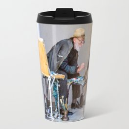 Old painter Travel Mug