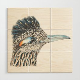 Roadrunner Glare Wood Wall Art