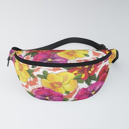 the pansy Fanny Pack