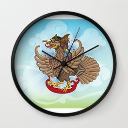 'Jatayu' or Eagle on the story of the Ramayana Wall Clock