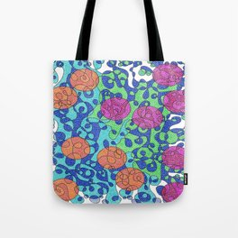 Abstract Dots #1 Tote Bag