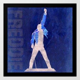 Freddie - Rock Wall 4 of 16 Art Print