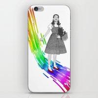 Somewhere over the rainbow iPhone & iPod Skin