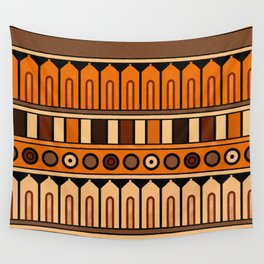 Aztec fabric Wall Tapestry
