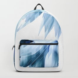 Agave geo fringe - blue Backpack