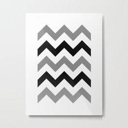 Geometric Pattern XIX Metal Print