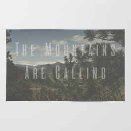 The Mountains Are Calling - Golden, Colorado Photography Rug