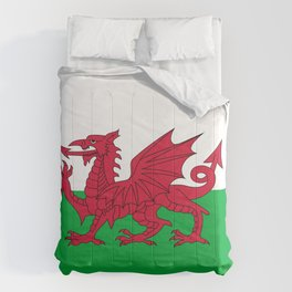Welsh Flag of Wales Comforters