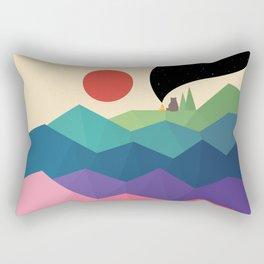Over The Rainbow Rectangular Pillow
