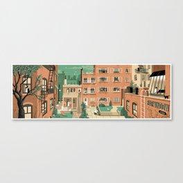 Hitchcock's Rear Window Canvas Print