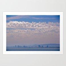 Smoky Sky Art Print