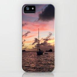 Captured at Sea iPhone Case