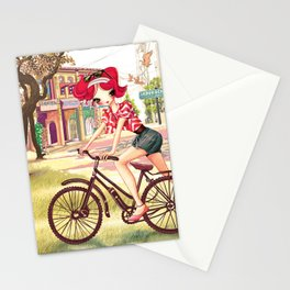 Liselle Cycles to Penang Stationery Cards