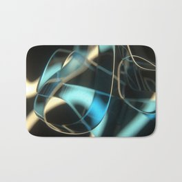 Night wisps Bath Mat