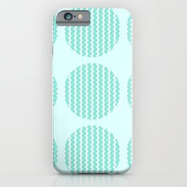 Looking At The Ocean Through The Holes iPhone Case