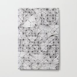Ivy Web Metal Print