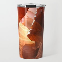 A Canyon Sculptured By Water Travel Mug