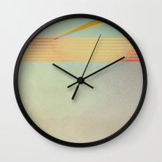 go away, black clouds Wall Clock