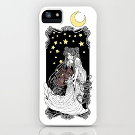 The Rabbits in the Moon iPhone Case