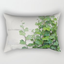 By the wall Rectangular Pillow