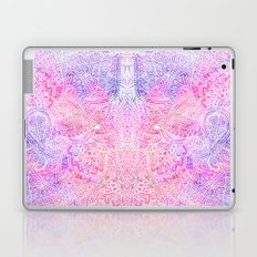 Pink Purple Paisley Love Laptop & iPad Skin