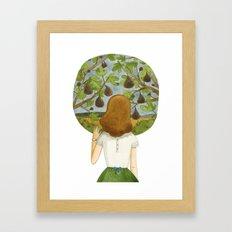 The fig tree Framed Art Print