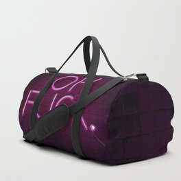 OH FUCK (pink) Duffle Bag