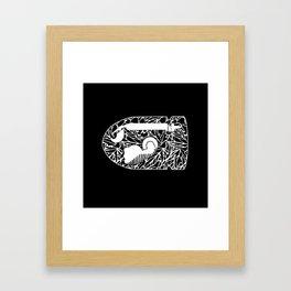 Bullet Bill #CrackedOutBadGuys Framed Art Print