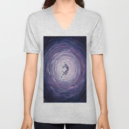 """Spiral into the Wild Thing""  Unisex V-Neck"