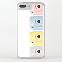 Instax Mini 8 Colors Clear iPhone Case