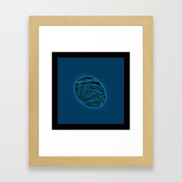 """Chaotic Flow Photo Print """"Chaotic Circle"""" - Exceptional detail Surrealistic Expression  Framed Art Print"""