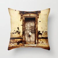 merida Throw Pillows featuring Merida Puerta by Ken Seligson