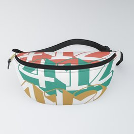 Pittsburgh 412 Area Code Steel City Vintage Gifts Fanny Pack
