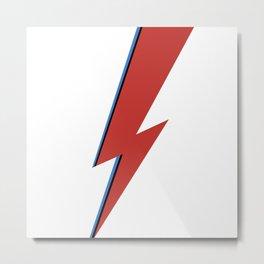 Bowie Bolt Metal Print