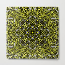 Mandala Collection 18 Metal Print
