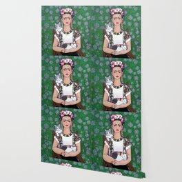 Frida cat lover Wallpaper