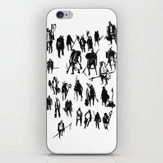 Little Warriors iPhone & iPod Skin