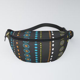 African Beads (Summer) - by Kara Peters Fanny Pack