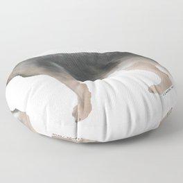 German Shepherd: Tan Sable Floor Pillow