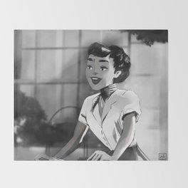 Anya Smith - Roman Holiday (Audrey Hepburn) Throw Blanket
