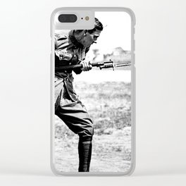 Bayonet Fighting Instruction Clear iPhone Case