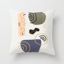 boho art Throw Pillow