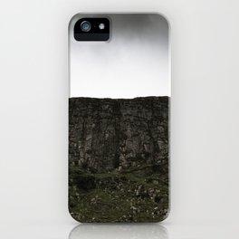 The dark edge iPhone Case