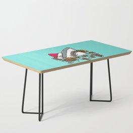 Gingerbread Destruction Shark Coffee Table