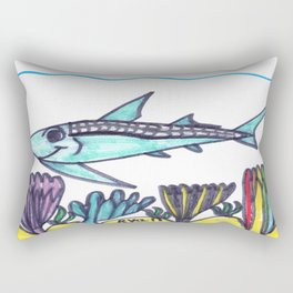 Key West Tarpon Rectangular Pillow