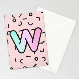 Wacky W Stationery Cards