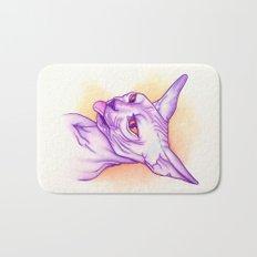 Sphynx cat #02 Bath Mat