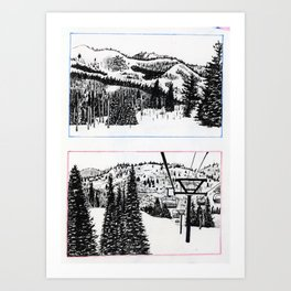 Park City Art Print