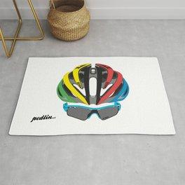 Cycling Face Rug